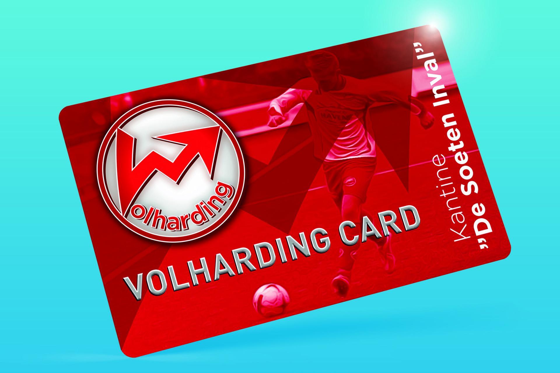 Introductie Volharding Clubkaart