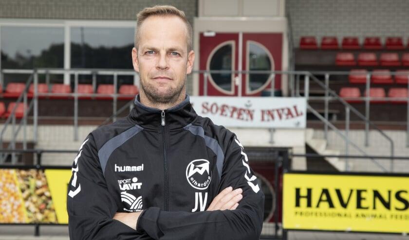 Johan Vullings heeft het contract met Volharding met een seizoen verlengd. (Foto: Yvonne Jacobs)