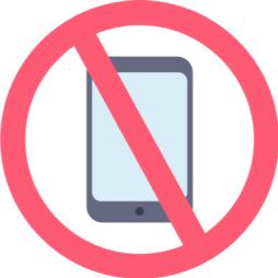 Geen mobiele telefoons in kleedruimtes